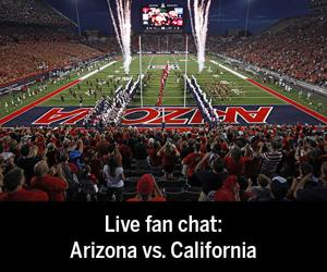 Live fan chat during the Arizona vs. Cal football game