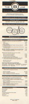 B Line menu