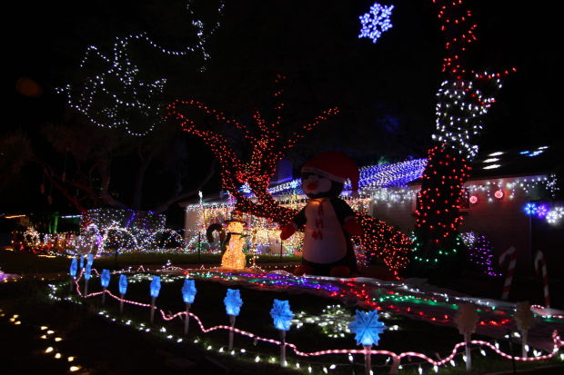 Winterhaven Tucson Christmas Lights