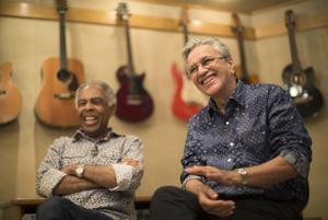 Caetano Veloso y Gilberto Gil cumplen medio siglo de amistad