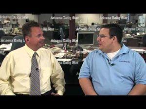 Daniel Gaona interviews Tucson coach Nemer Hassey