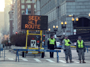 Photos: Aftermath of Boston Marathon explosions