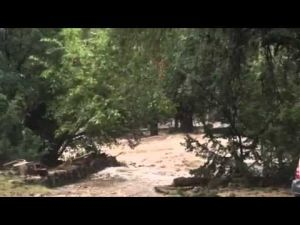 Cave Creek Ranch flooding