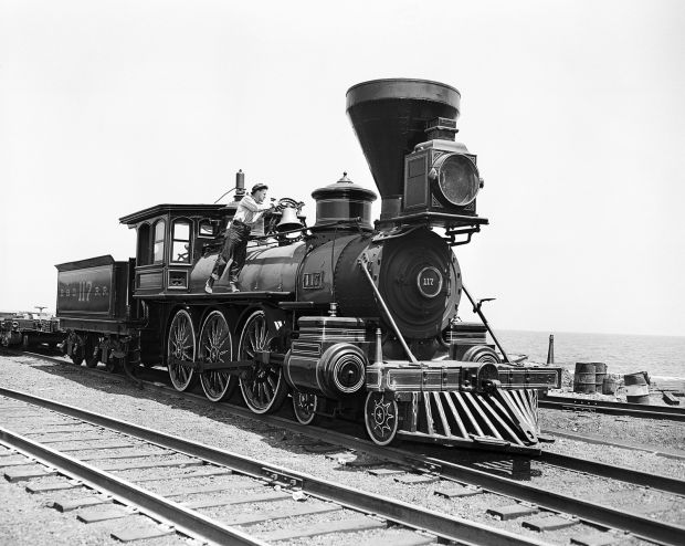 Old Toy Trains : Photos old new and toy trains for national train day