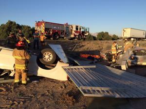 2 hurt in 2-vehicle crash on I-10 near Marana