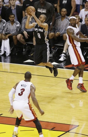 NBA finals: Spurs 92, Heat 88: Tony Parker is clutch for Spurs