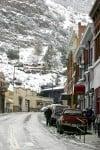 Snow blankets Bisbee