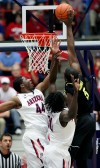 UA basketball Oregon at Arizona
