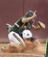 High school softball championship CDO 11, Peoria Sunrise Mountain 9, 8 innings Party time for Dorados
