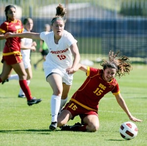 Photo gallery: Arizona vs USC in soccer