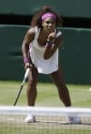 Serena sets aces record with 24 in victory
