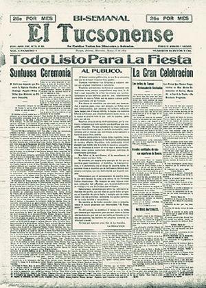 Desde Tucsón: Recortes de nuestra historia en la colección digital de la Universidad