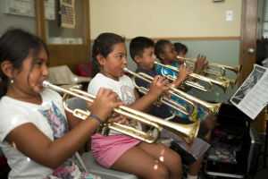 Study: Playing music helps sharpen kids' brains