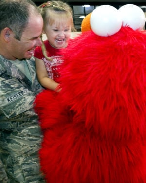 Photos: Sesame Street at D-M AFB