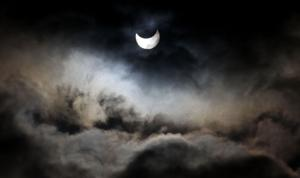 Partial eclipse of the sun is this afternoon