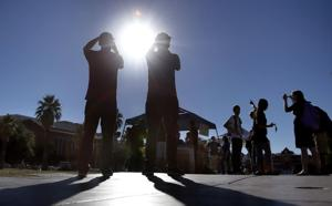 Photos: Partial solar eclipse
