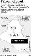 US shuts huge prison, gives control to Iraqis