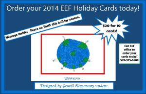 Student-designed holiday card to benefit TUSD