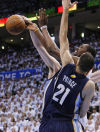 NBA playoffs: Grizzlies 88, Thunder 84: Grizzles in 1st West finals