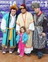 Los tres Reyes Magos llegan al Sur de Tucsón