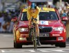 Tour de France: Wiggins gains time on rival Evans
