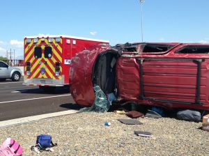 5 family members injured in Tucson I-10 rollover