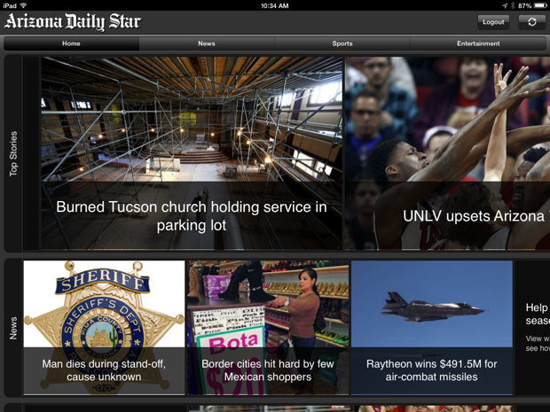 Arizona Daily Star for iPad