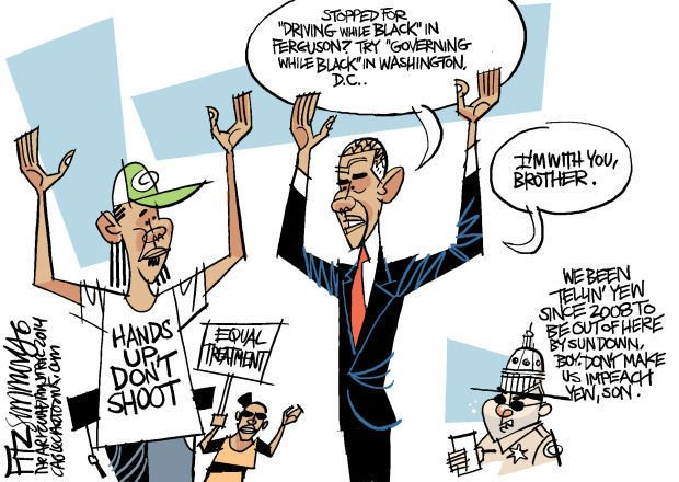 Daily Fitz Cartoon: Ferguson