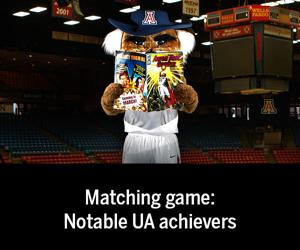 Matching game: Notable UA achievers