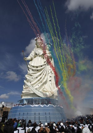 Photo of the day: Bolivia Virgin Statue