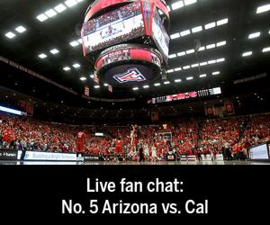 Live fan chat: Arizona vs. Cal basketball