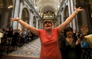 Photos: World celebrates new pope