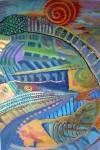 View colorful art exhibit at Kirk-Bear through April