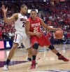 College basketball Utah at Arizona