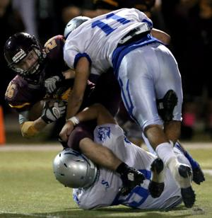 High school football: Sunnyside ends skid against Salpointe