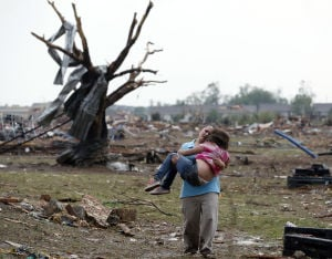 Photos: Massive tornado strikes Oklahoma