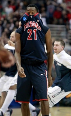 West regional final: No. 3 UConn 65, No. 5 Arizona 63: Can't get past UConn