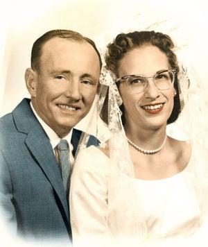 Roy Edgar Cathey 10/14/1923 - 10/29/2008 Constance Lou Ann Cathey 3/13/1936 - 12/14/2014