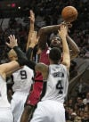 NBA Finals Spurs 113, Heat 77 Record from beyond arc sinks Miami