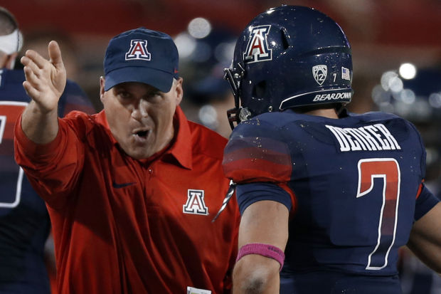 UA football: QB Patterson decommits from Arizona