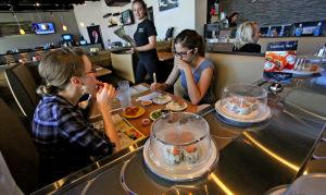 New sushi spot revolves around moving plates