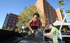 Photos: UA dorm early move-in day
