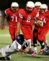 Tucson High 45, Sunnyside 14