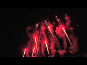 Video: University of Arizona 2014 graduation fireworks