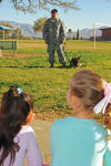 Airmen participate in local schools Career Day