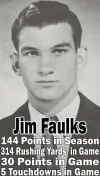 4. Jim Faulks, RB, 1959