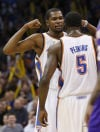 Thunder 127, Suns 96 Okla. City shares wealth in rout of Phoenix