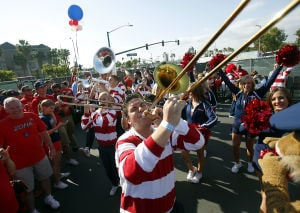 Photos: UA pep rally in Anaheim