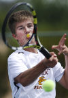 Division II boys playoff tennis
