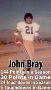 2. John Bray, RB, 1976